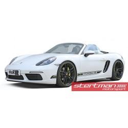 Porsche 718 Cayman H&R sänkningssats sänker 30/30mm (Passar även bilar med PASM)