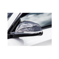 BMW M2 F87 Akrapovic Blanka kolfiber backspegelkåpor