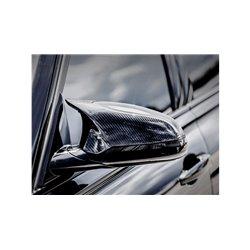 BMW M2 Competition / CS F87 Akrapovic Blanka kolfiber backspegelkåpor