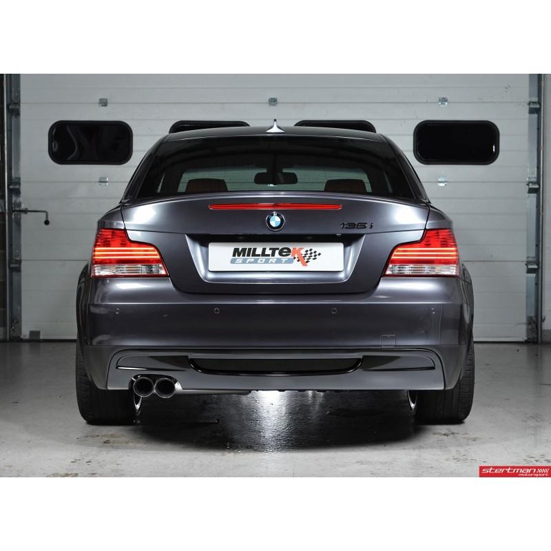 BMW 135i N55 E82 Milltek Sport Från Bakre Katalysatorer 2x