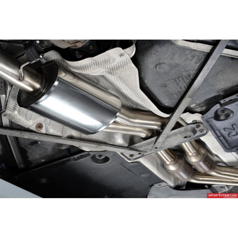 BMW 135i N54 E82 Milltek Sport Turbo-Back 2x 80 Chrome GT