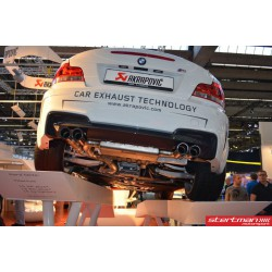 BMW 1M Akrapovic Evolution System i Titan