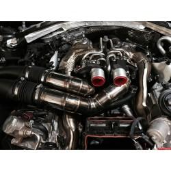 Audi 4,0TFSi Stertman Motorsport inlopps rör till TTE9XX turbos