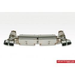 Porsche 991 Turbo / Turbo S Europipe Turbo-Back avgassystem